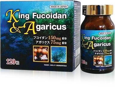 Sản phẩm King Fucoidan & Agaricus