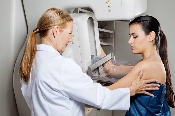 Chẩn đoán ung thư vú.