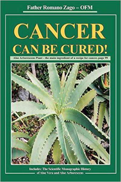 Cuốn sách chữa ung thư bằng lô hội của linh mục Romana Zago