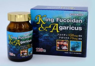 Chứng nhận chất lượng sản phẩm King Fucoidan & Agaricus từ Bộ y tế